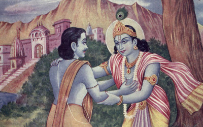 Mahabharata Story: Krishna's concern for the Devotees – Bhisma, Draupadi and Krishna
