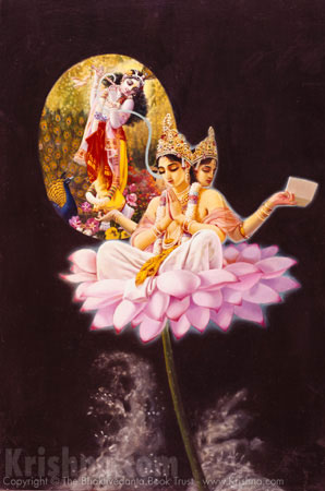 Lord Brahma Hears the Gayatri Mantra
