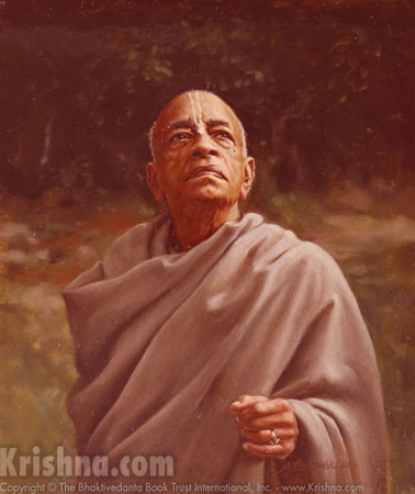 Srila Prabhupada Envisioning Projects for Krishna