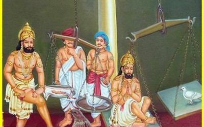 Mahabharata story: Glories of King Shibi