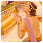 King Story: King Kulashekara and offence to dust from the feet of the gurus
