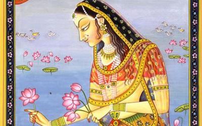 Vrindavan story: THE DIVINE APPEARANCE OF SRIMATI RADHARANI