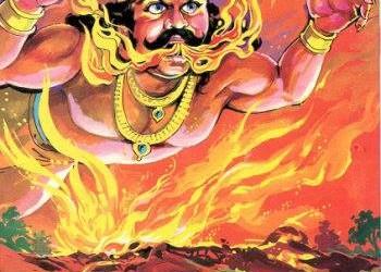 Mahabharata story: Krishna and Arjuna meet Agnidev