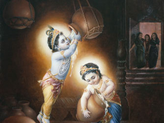 Story: Krishna Only Accepts Love And Affection –  Krishna's visit to palace of Duryodana and house of Vidura