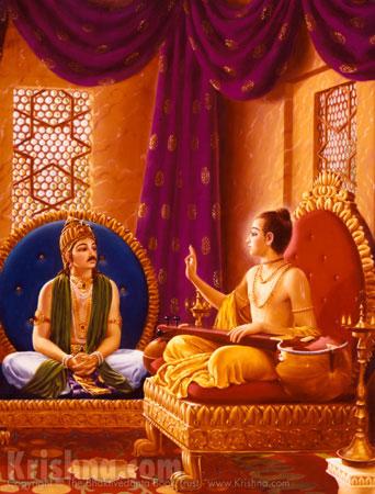 Narada Instructs King Prachinabarhisat