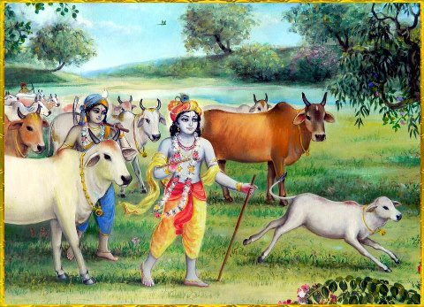 Vrindavan story: Krishna refused to wear shoes and carry umbrella!!!