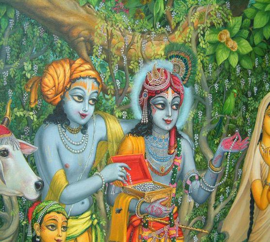 Vrindavan story: Krishna plants pearls!!!