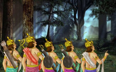 Mahabharata story: Sage Romarishi , The Pandavas and Bhagavan Sri Krishna