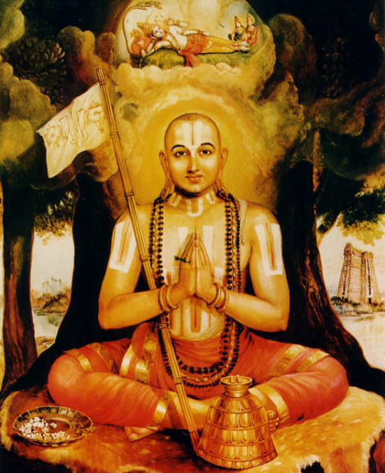 Mantra Story: Ramanujacarya and mantra Om namo Narayanaya