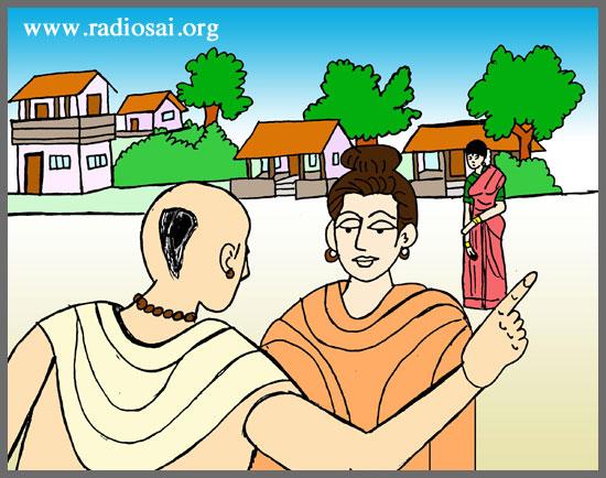 Krishna Story: Brahmana and Prostitute
