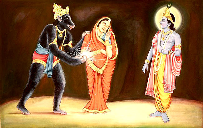Krishna story: Jambavan get good fight from Krishna!