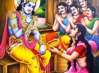 Mahabharata story: Durvasa Muni  and cooking pot of Draupadi!