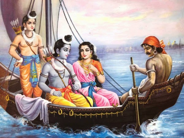Ramayana story: Lord Rama and boatmen Kevat!