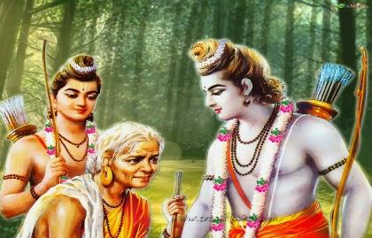 Ramayana story: Lord Rama meeting Shabari!