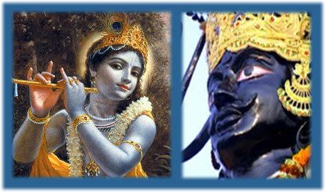 Krishna story: Shanidev visit to Krishna in Vrindavan!