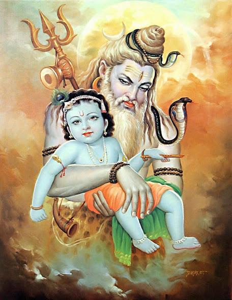 Vrindavan story: Lord Siva visit to Sri Krishna in Gokula!