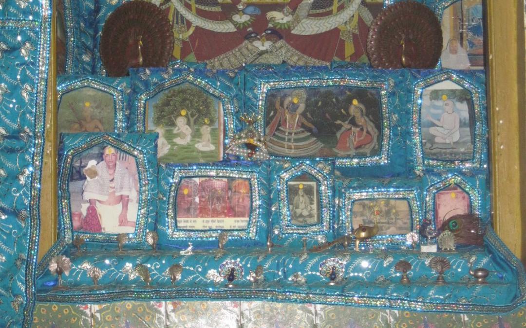 Vrindavan lila: Pastimes at Mayur kutir and picture of blind sadhu!!!