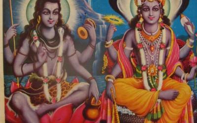 Narada muni. Narada bring a fight between Siva and Vishnu