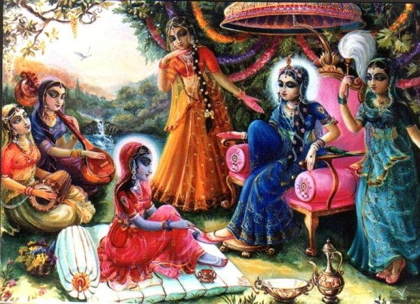 Vrindavan story: Srimati Radharani bitten by the snake bite of separation!