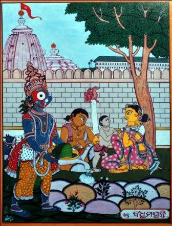 Lord Jagannath story:  Lord Jagannath's Devotee Bandhu Mohanty