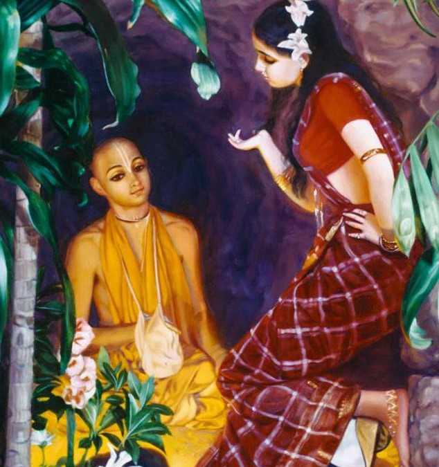 Holy name story: Haridas Thakur and prostitute