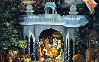 Narada Muni story: The Great Sage Narada Visits the Different Homes of Lord Krsna