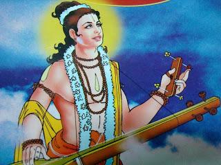 Narada's help to Yadavas