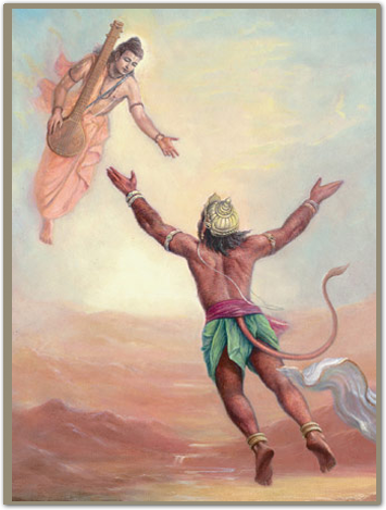 Bhakti story: Hanuman and vina of Narada Muni