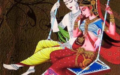 Narada Muni story: Narada make Radha and Krishna to quarell