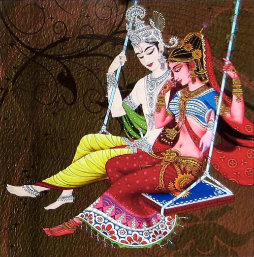 Narada Muni story: Narada make Radha and Krishna to quarell