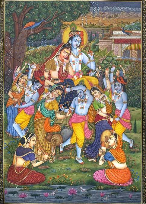 Narada Muni in Vrindavana: Narada Muni Becomes a Gopi