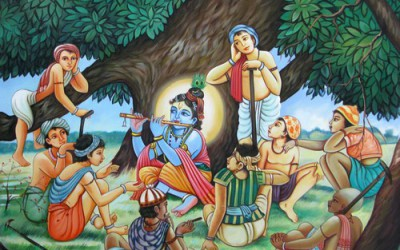 Krishna Bala Lila: Krishna Plays in the Village