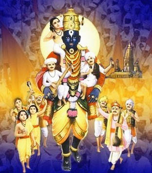Holy name story: Krishna come as barber to help his devotee!