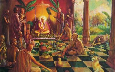 Krishna story: Dog of Sivananda receive mercy by secret wepon!