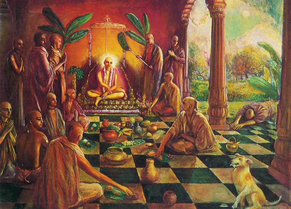 Krishna story: Dog of Sivananda receive mercy by secret wepon!