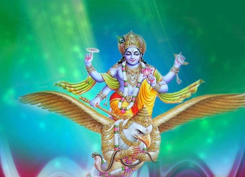 Krishna story: Offensive thinking by Garuda!