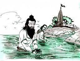 Krishna story: Sadhu and scorpion