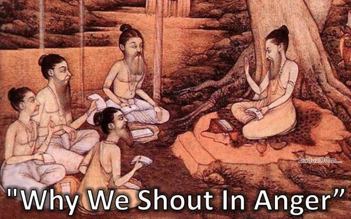 Krishna story: WHY DO WE SHOUT WHEN ANGRY ????