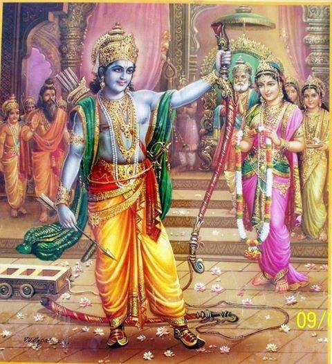Ramayana story: Permission for Rama from his mother!