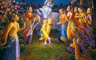 Vrindavan story: New gopi bitten by black snake Krishna!