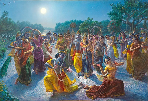 Holy name lila: Chanting of the holy name in Krsna lila!