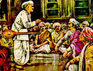 Tukaram rejects Shivajis gold